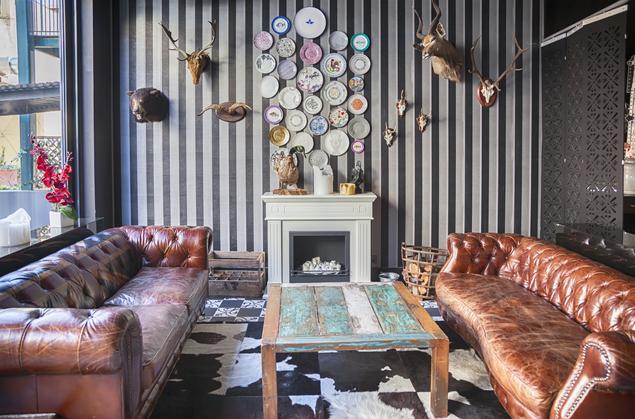 Aranżacja salonu. Styl vintage we wnętrzach