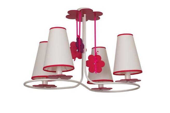 Lampy wiszące Praslin do pokoju dziecięcego. Oświetlenie dla małej elegantki