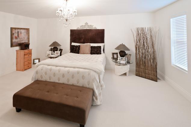 Aranżacja sypialni - styl eklektyczny