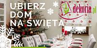 Przygotuj dom na Święta z Dekoria.pl