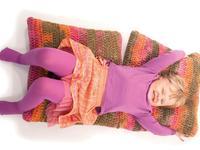 Wełniana poduszka