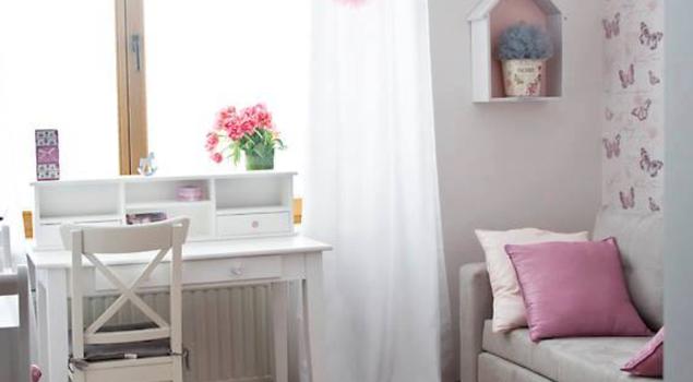 Motylkowy pokój Nadii Zelt