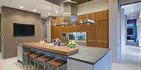 Fronty lakierowane w nowoczesnej kuchni