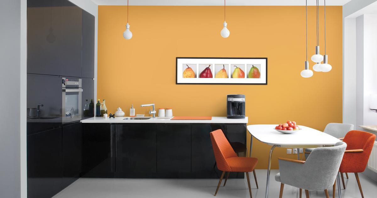 Farby do kuchni Kolory ścian kuchni sekretem udanego po   -> Kolory Kuchni Sciany